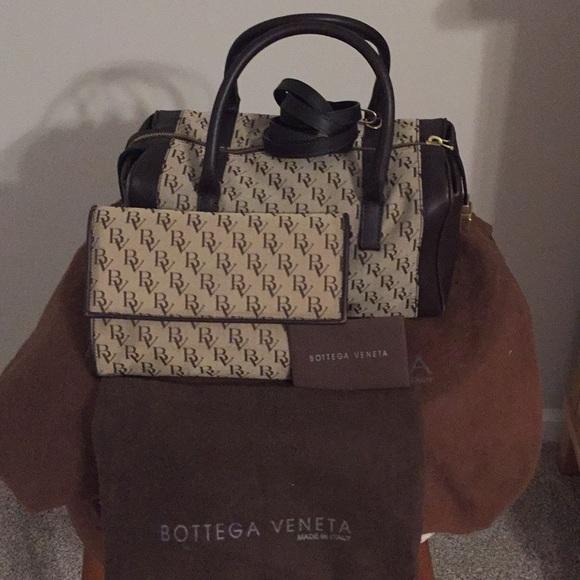 44cac90cf51f Bottega Veneta Handbag and Wallet Set
